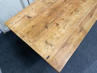 19th Century Pine Kitchen Table (3 of 10)