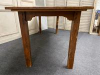 19th Century Pine Kitchen Table (8 of 10)