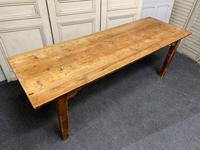 19th Century Pine Kitchen Table (2 of 10)