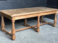 Unusual 6 Leg French Farmhouse Dining Table (8 of 22)