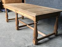Unusual 6 Leg French Farmhouse Dining Table (17 of 22)