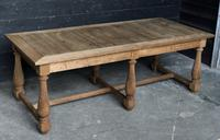 Unusual 6 Leg French Farmhouse Dining Table (9 of 22)