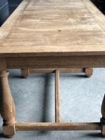 Unusual 6 Leg French Farmhouse Dining Table (3 of 22)