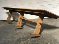 Extra Long French Farmhouse Dining Table (10 of 11)