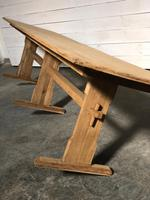 Extra Long French Farmhouse Dining Table (9 of 11)