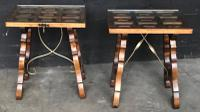 Pair of Spanish Walnut Lamp Tables C.1910 (5 of 8)