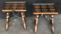 Pair of Spanish Walnut Lamp Tables C.1910 (2 of 8)