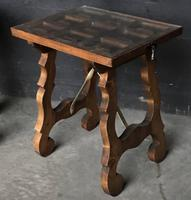 Pair of Spanish Walnut Lamp Tables C.1910 (6 of 8)