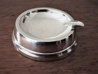 Weighted Silver Ashtray, Hallmarked for Birmingham 1963, Sanders & Mackenzie