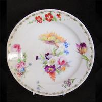 Swansea Porcelain Plate by Henry Morris