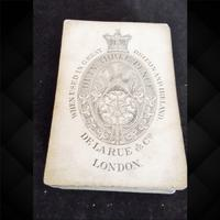 Pack of De La Rue Playing Cards