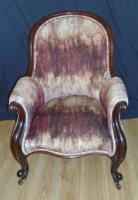 Mahogany Framed Chair C.1870 (10 of 10)