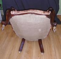 Mahogany Framed Chair C.1870 (4 of 10)