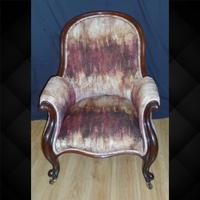 Mahogany Framed Chair C.1870