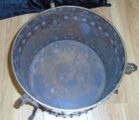 Arts & Crafts Steel & Copper Coal Bucket (6 of 11)