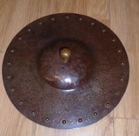 Arts & Crafts Steel & Copper Coal Bucket (8 of 11)