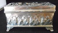 Silver Embossed Rectangular Box Chester 1901 (3 of 12)