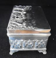 Silver Embossed Rectangular Box Chester 1901 (7 of 12)