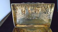 Silver Embossed Rectangular Box Chester 1901 (10 of 12)