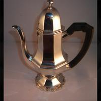 Silver Coffee Pot 1905