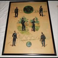 Scottish Regiment Watercolour