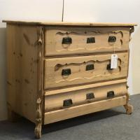 Antique German Chest of Drawers c.1910 (3 of 5)