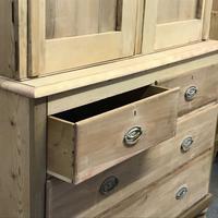 Scottish Edwardian Pine Linen Press (7 of 7)