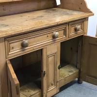 Old Victorian Yorkshire Pine Dresser (7 of 9)
