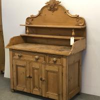 Old Victorian Yorkshire Pine Dresser (3 of 9)
