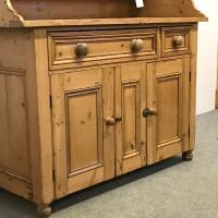 Old Victorian Yorkshire Pine Dresser (5 of 9)