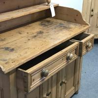 Old Victorian Yorkshire Pine Dresser (8 of 9)