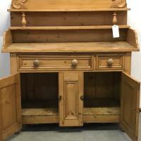 Old Victorian Yorkshire Pine Dresser (6 of 9)