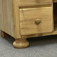 Large Old Pine Sideboard with Drawers c.1910 (6 of 6)