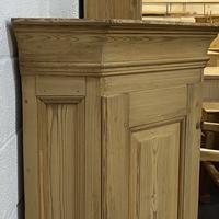 Large Very Old Pine Floor Standing Corner Cupboard (5 of 7)