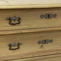 4 Drawer Antique Pine Chest of Drawers (6 of 6)