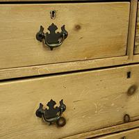 English Victorian Pine Chest of Drawers (6 of 6)