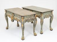Superb Pair of Chippendale Style Console Tables (7 of 10)
