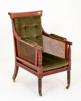 Impressive Mahogany William IV Bergere Chair