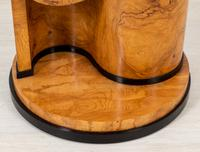 Stylish Figured Ash Art Deco Occasional Table (3 of 9)