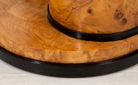 Stylish Figured Ash Art Deco Occasional Table (6 of 9)