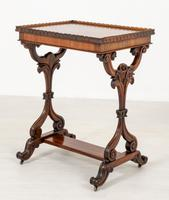 Pretty Victorian Rosewood Occasional Table