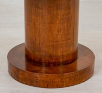 Art Deco Sycamore Cylindrical Occasional Table (4 of 5)