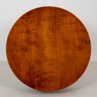 Art Deco Sycamore Cylindrical Occasional Table (2 of 5)