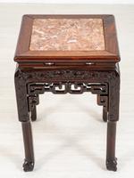 Chinese Hardwood Urn Stand c.1870