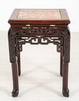 Chinese Hardwood Urn Stand c.1870 (2 of 7)