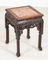 Chinese Hardwood Urn Stand c.1870 (3 of 7)