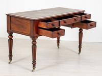Victorian 5 Drawer Mahogany Writing Table (4 of 7)