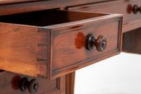 Victorian 5 Drawer Mahogany Writing Table (5 of 7)