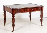 Victorian Mahogany 2 Drawer Writing Table
