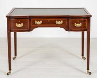 Edwards and Roberts Inlaid Mahogany Writing Table (2 of 9)